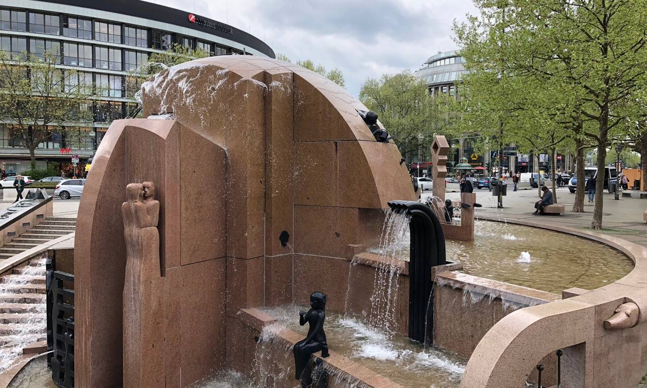 Wasserklops – ein Brunnen der besonderen Art