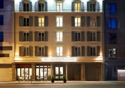 Classik-Hotel-Collection-Hackescher-Markt-Front-View-Night