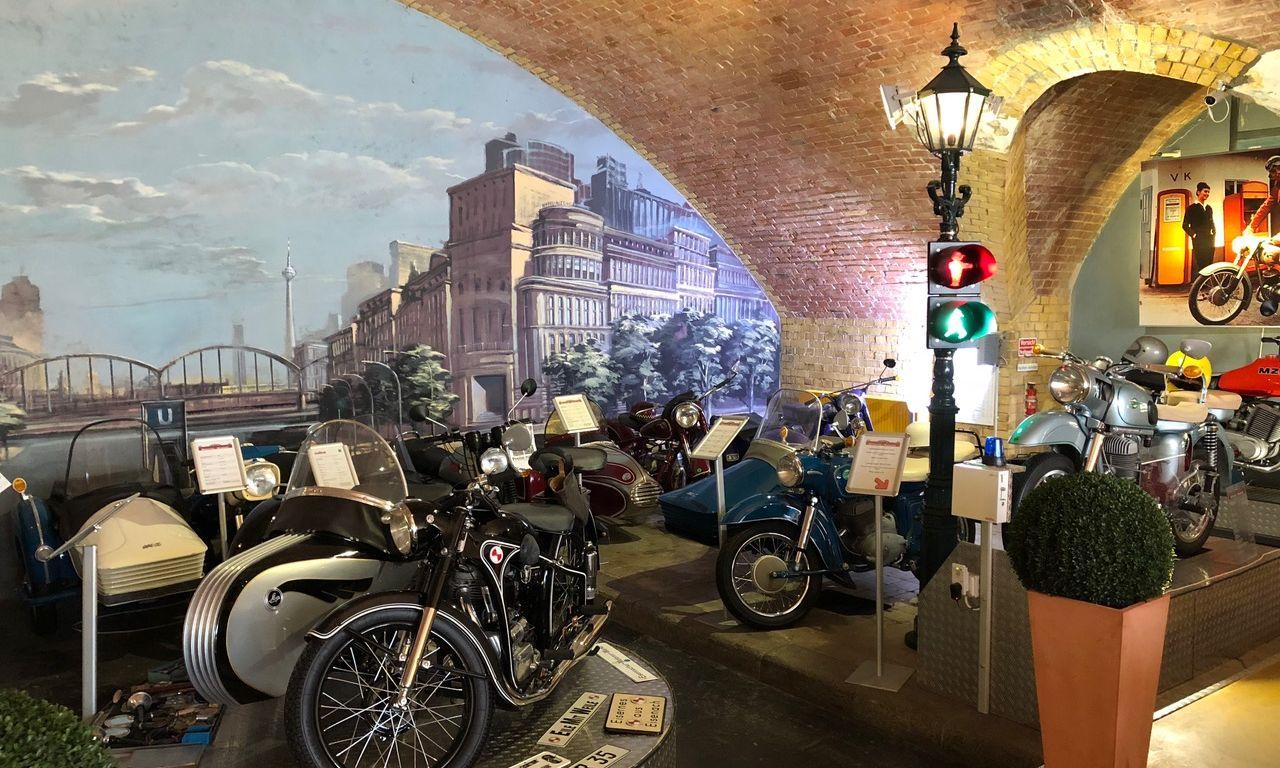 Berliner DDR Motorrad-Museum