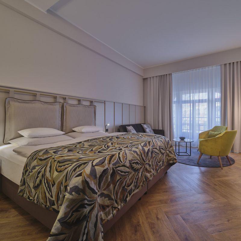 Classik Hotel Alexander Plaza komfortables Gästezimmer