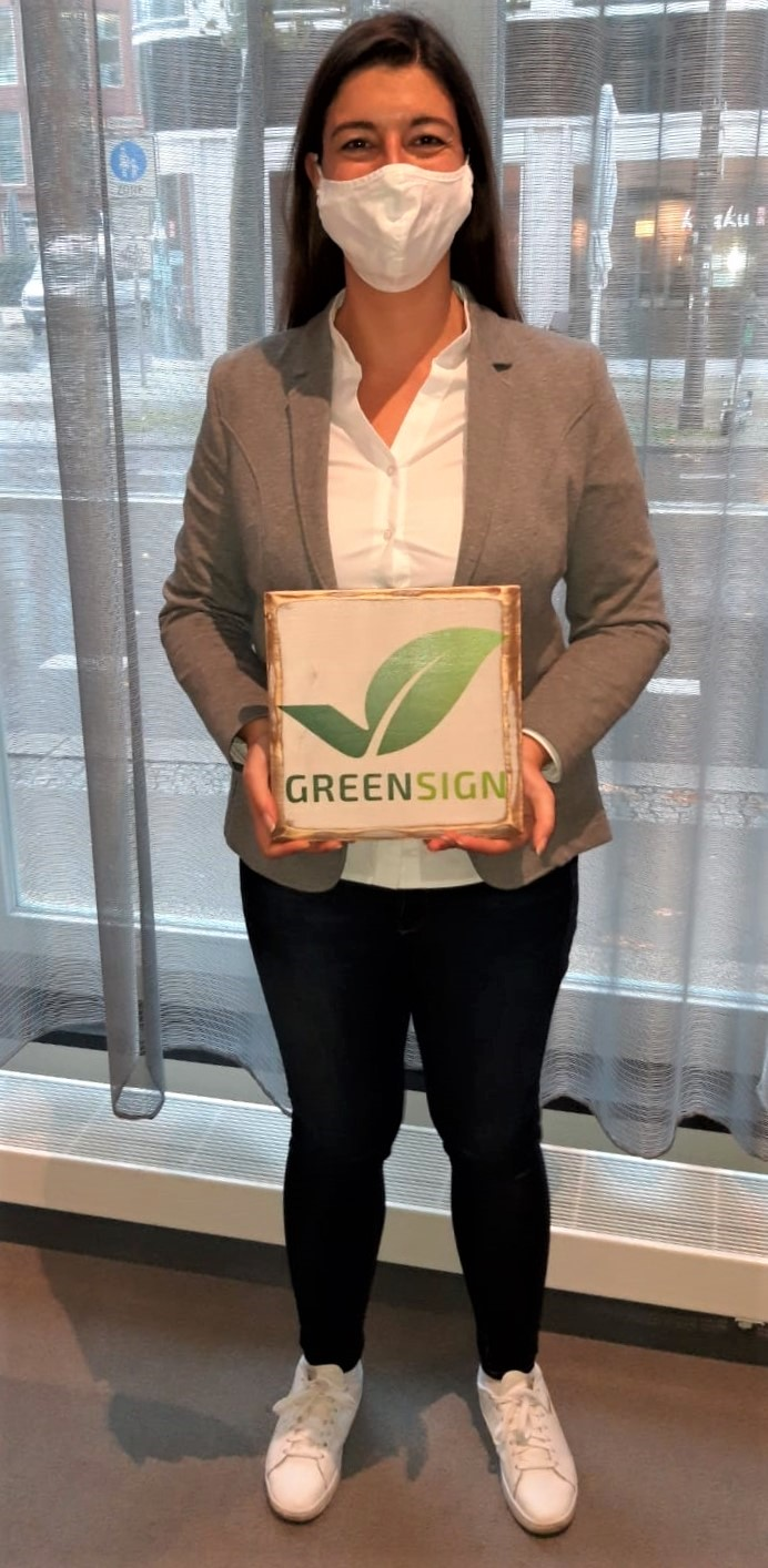 Green Sign Zertifikat