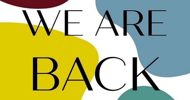 Wir sind wieder da!